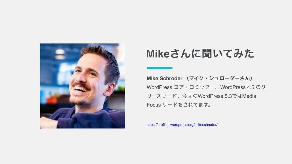 Mike͞Μʹฉ͍ͯΈͨ Mike Schroder ʢϚΠΫɾγϡϩʔμʔ͞Μʣ WordP...