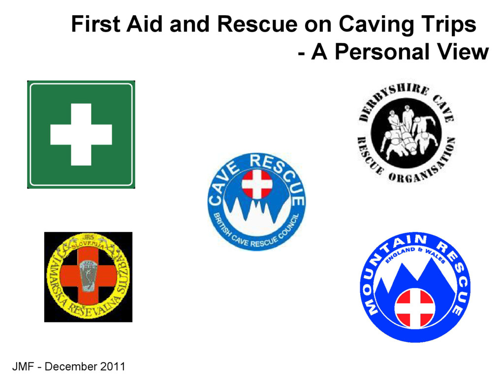 JMF - December 2011 First Aid and Rescue on Cav...