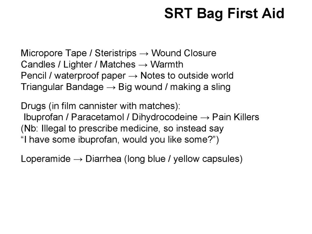 Micropore Tape / Steristrips → Wound Closure Ca...