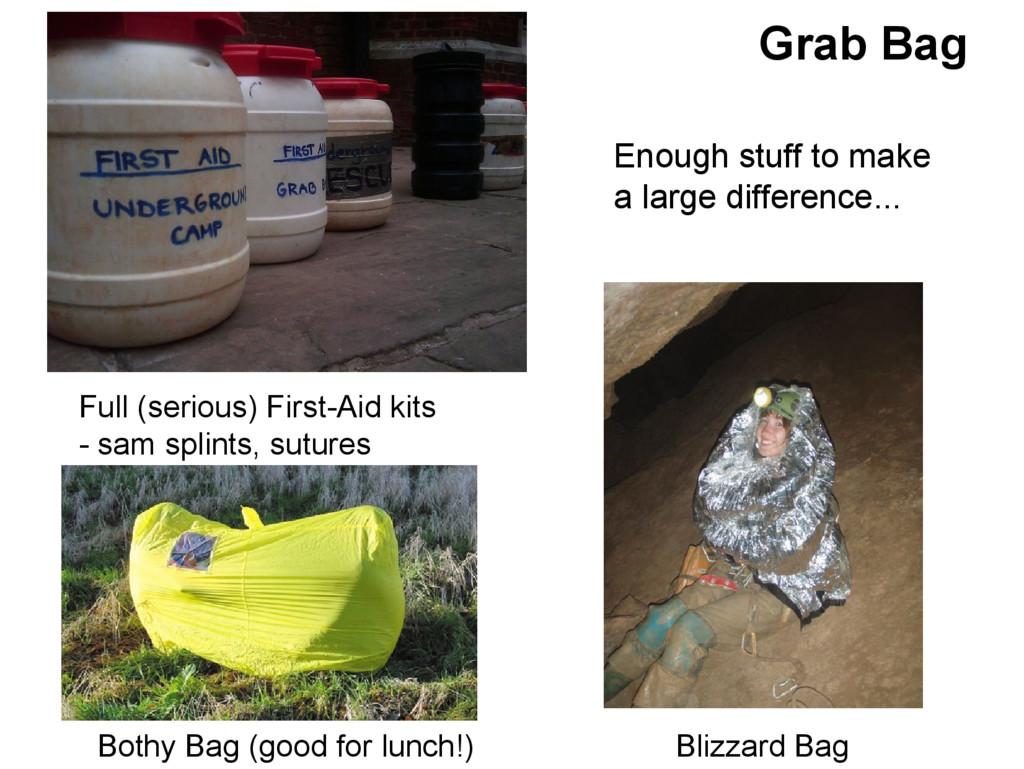 Grab Bag Bothy Bag (good for lunch!) Blizzard B...