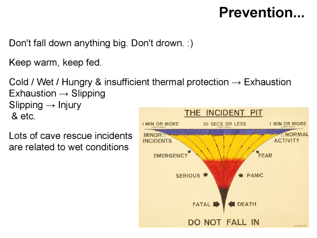 Prevention... Don't fall down anything big. Don...