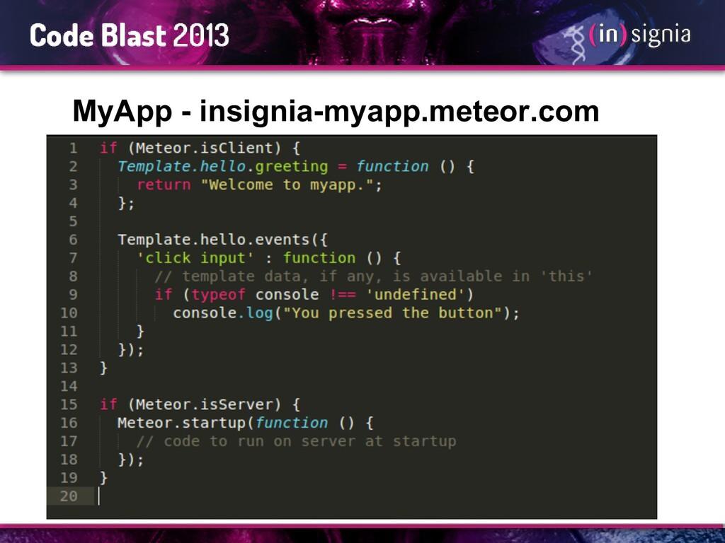 MyApp - insignia-myapp.meteor.com