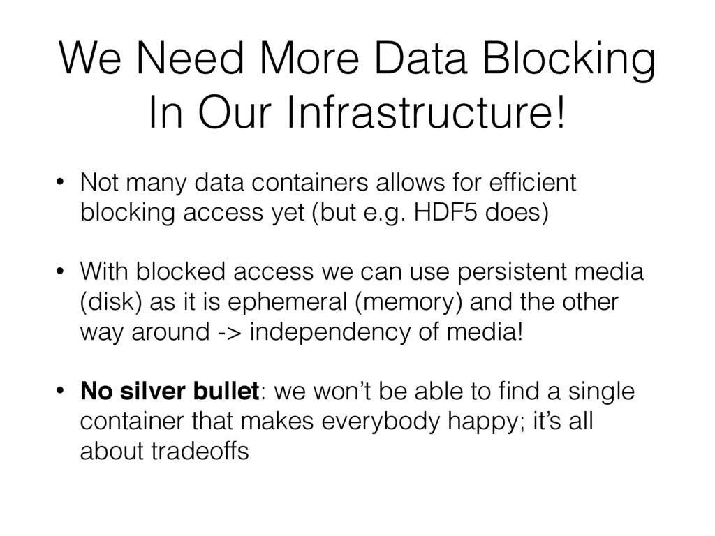 We Need More Data Blocking In Our Infrastructur...