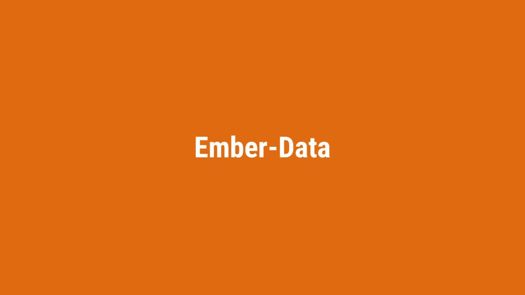 Ember-Data