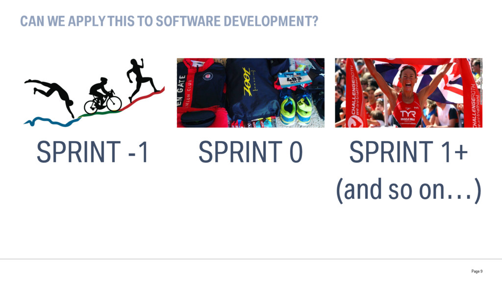 CAN WE APPLY THIS TO SOFTWARE DEVELOPMENT? Page...
