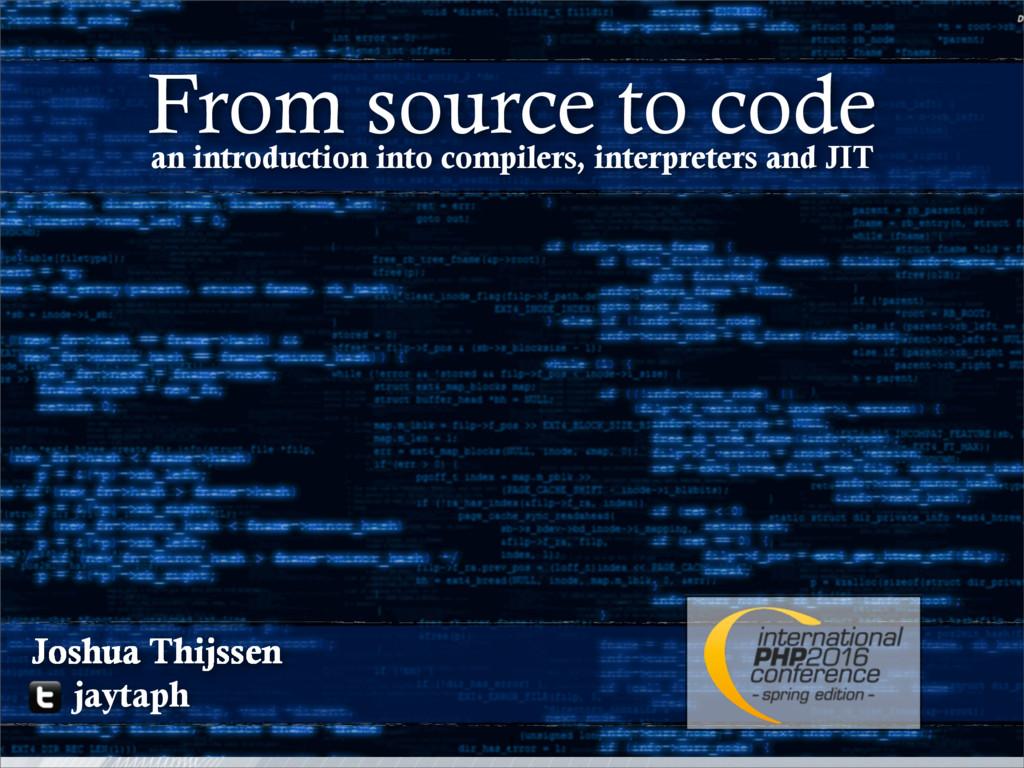 1 Joshua Thijssen jaytaph an introduction into ...