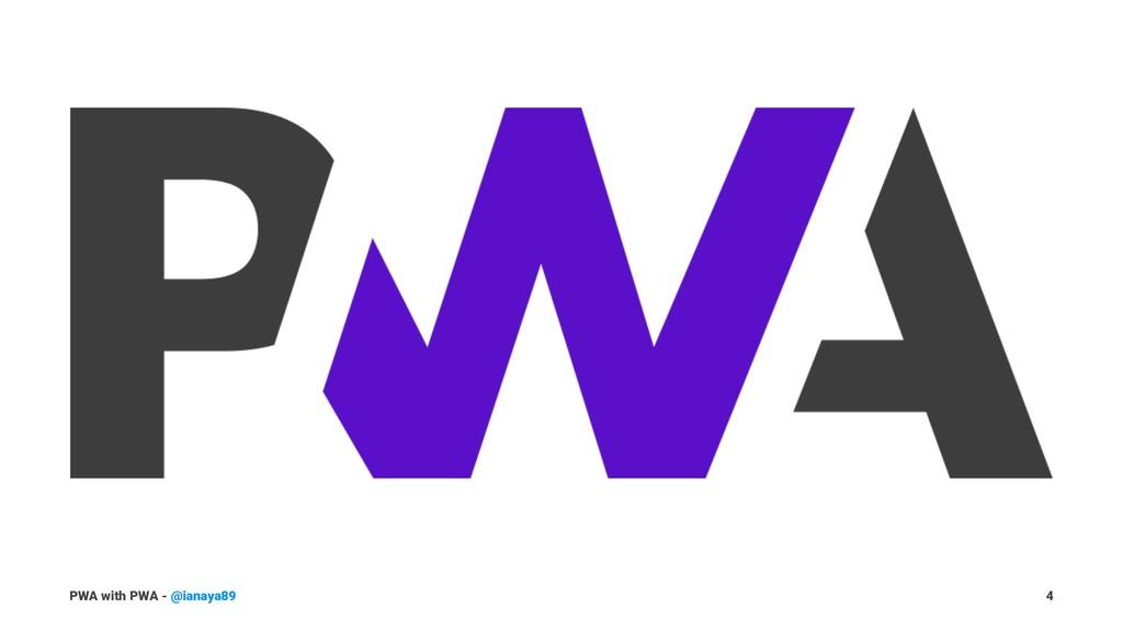 PWA with PWA - @ianaya89 4