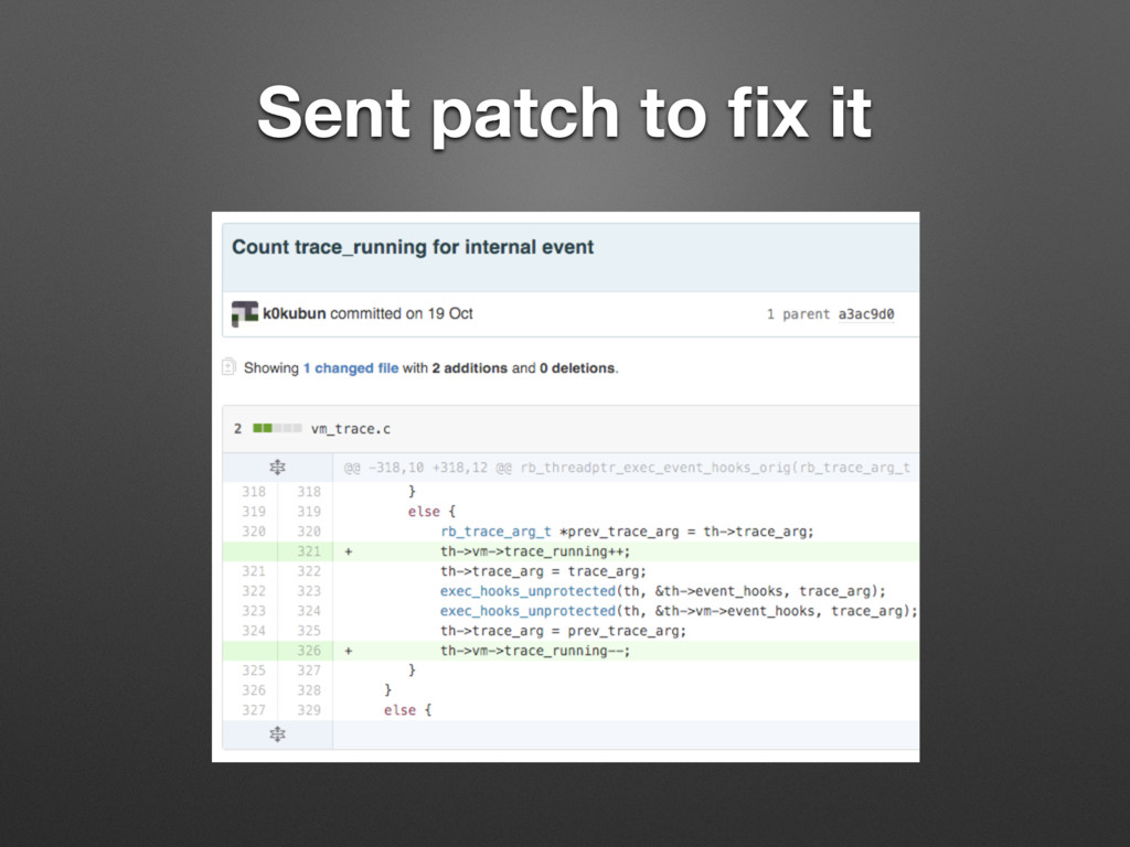 Sent patch to fix it