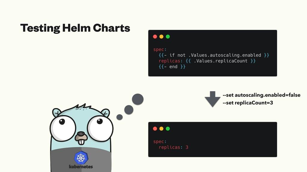 Testing Helm Charts --set autoscaling.enabled=f...