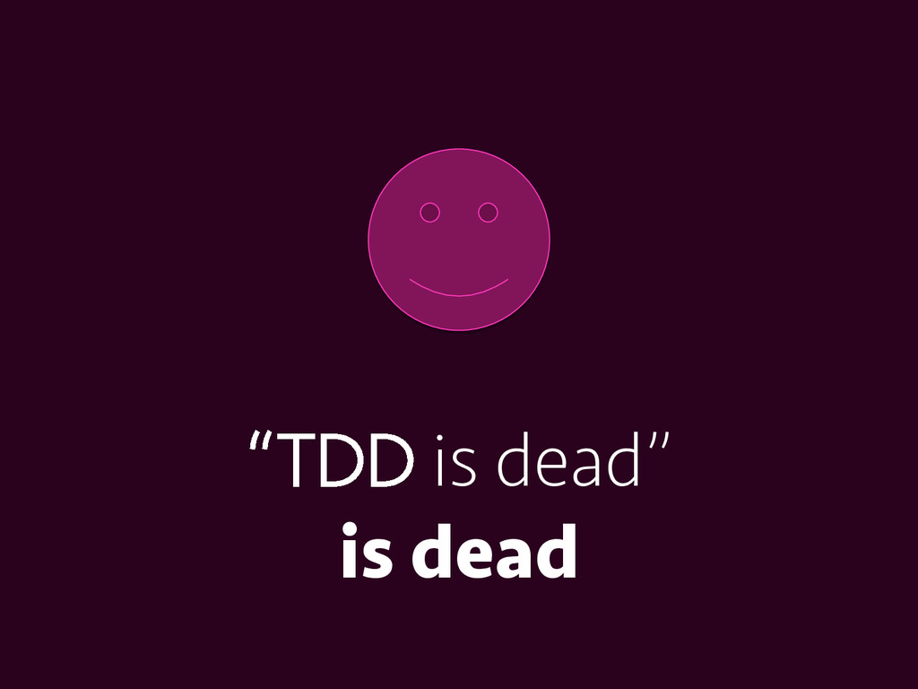 """""""TDD is dead"""" is dead"""
