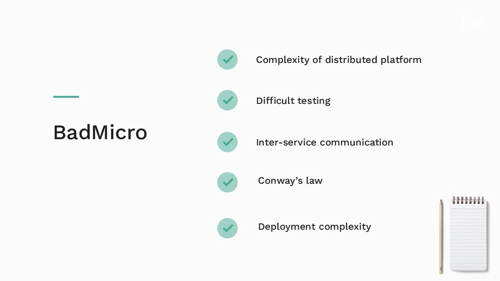 Complexity of distributed platform Difficult te...