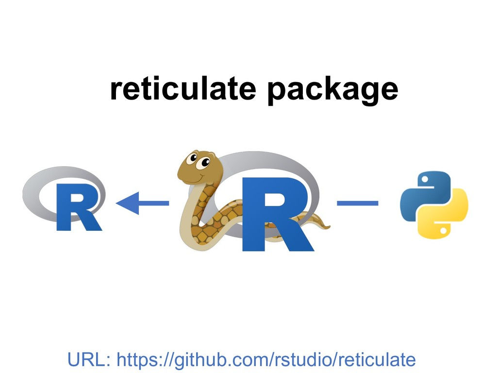 reticulate package URL: https://github.com/rstu...