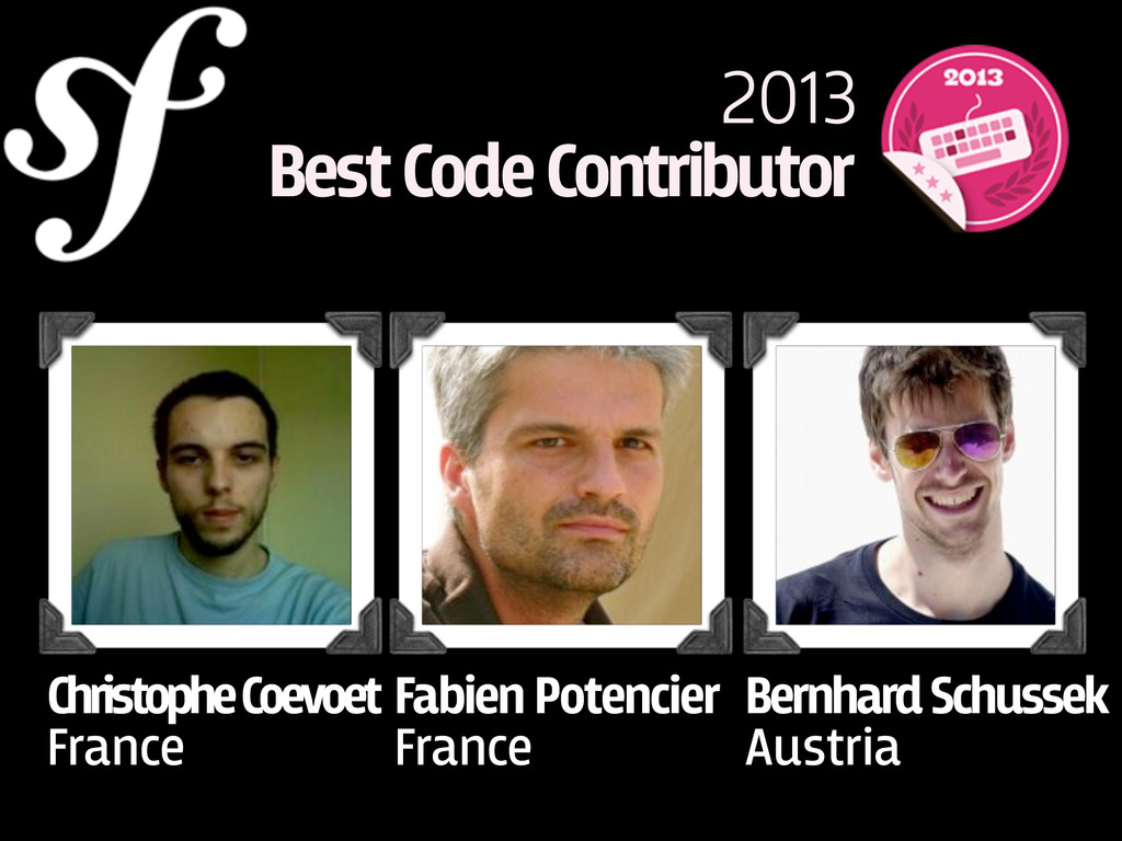 Christophe Coevoet France 2013 Best Code Contri...