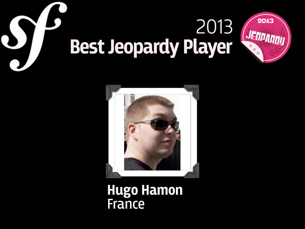 Hugo Hamon France 2013 Best Jeopardy Player