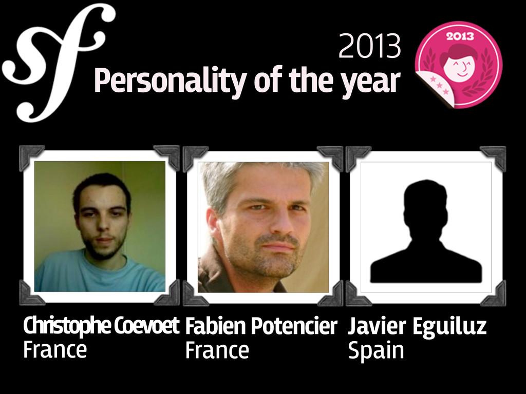 Christophe Coevoet France Javier Eguiluz Spain ...