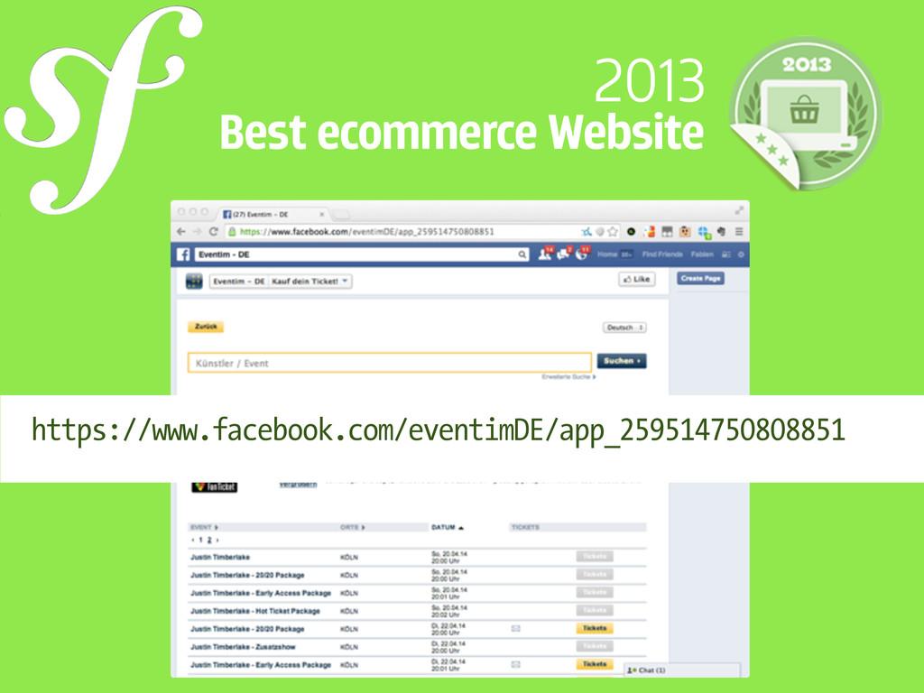 2013 Best ecommerce Website https://www.faceboo...