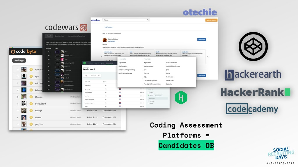 @SourcingDenis Coding Assessment Platforms = Ca...