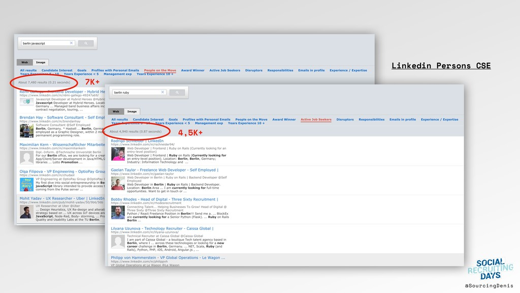 @SourcingDenis Linkedin Persons CSE 7K+ 4,5K+