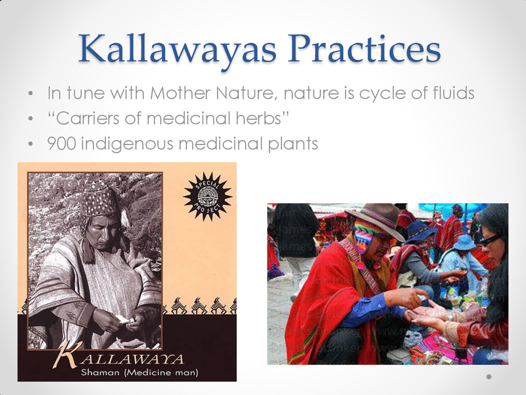 Kallawayas Practices • In tune with Mother Natu...