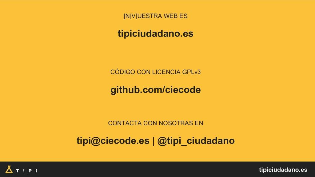 [N V]UESTRA WEB ES tipiciudadano.es CÓDIGO CON ...