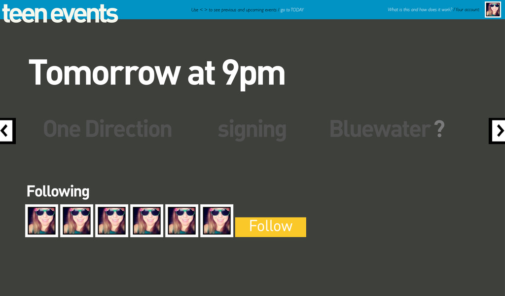 teen events One Direction signing Bluewater Fol...