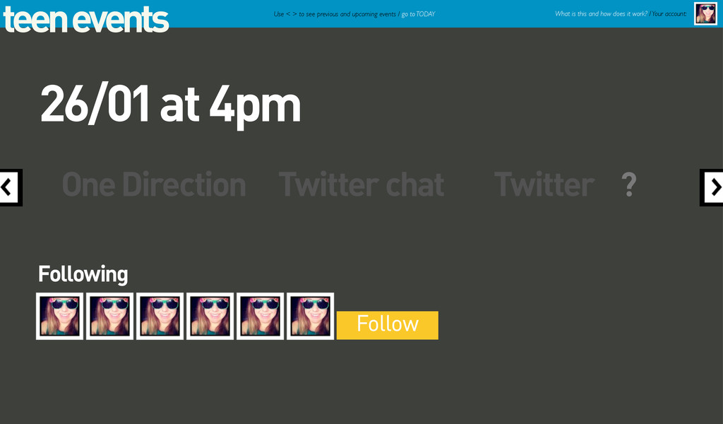 teen events One Direction Twitter chat Twitter ...