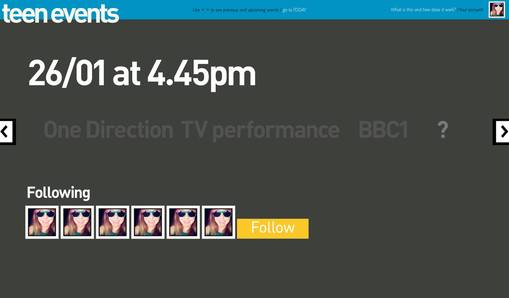 teen events One Direction TV performance BBC1 F...