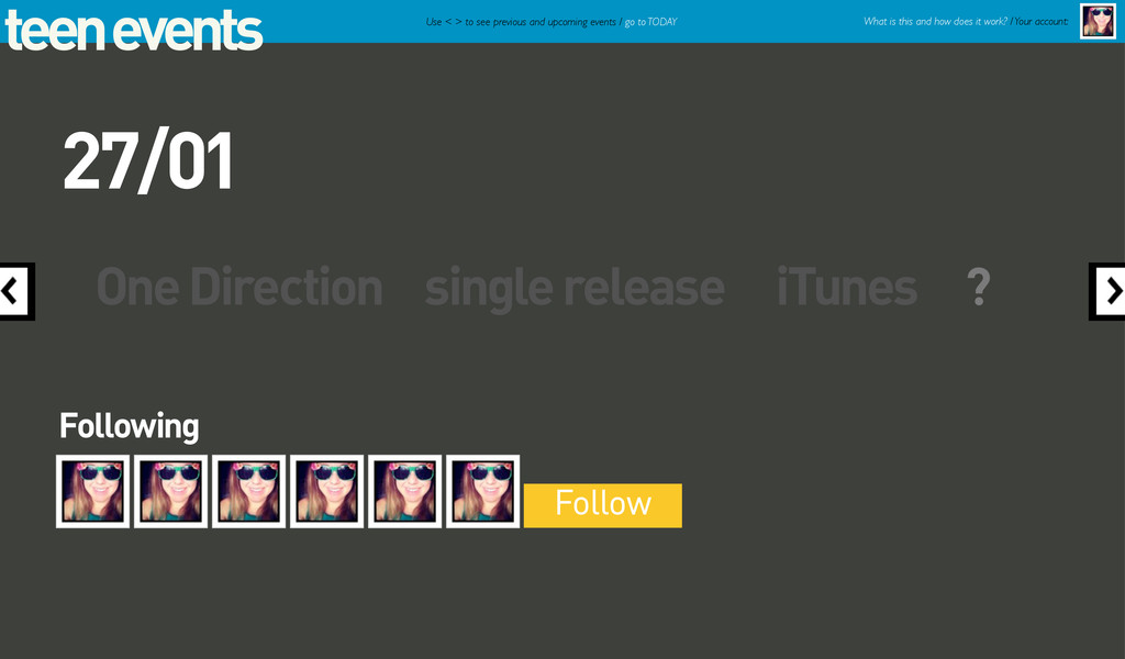 teen events One Direction single release iTunes...