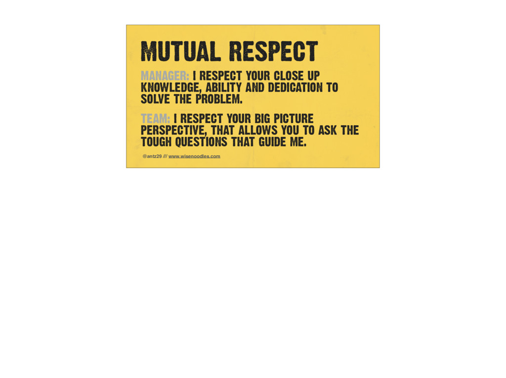 MUTUAL RESPECT @antz29 /// www.wisenoodles.com ...
