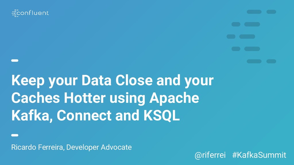 Keep your Data Close and your Caches Hotter usi...