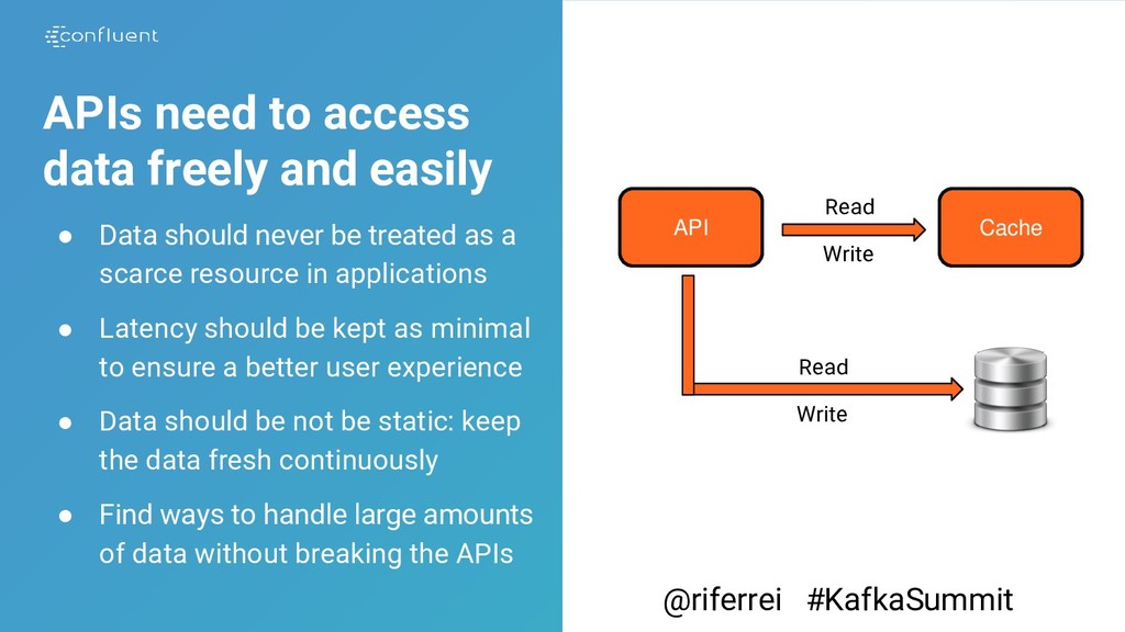APIs need to access data freely and easily ● Da...