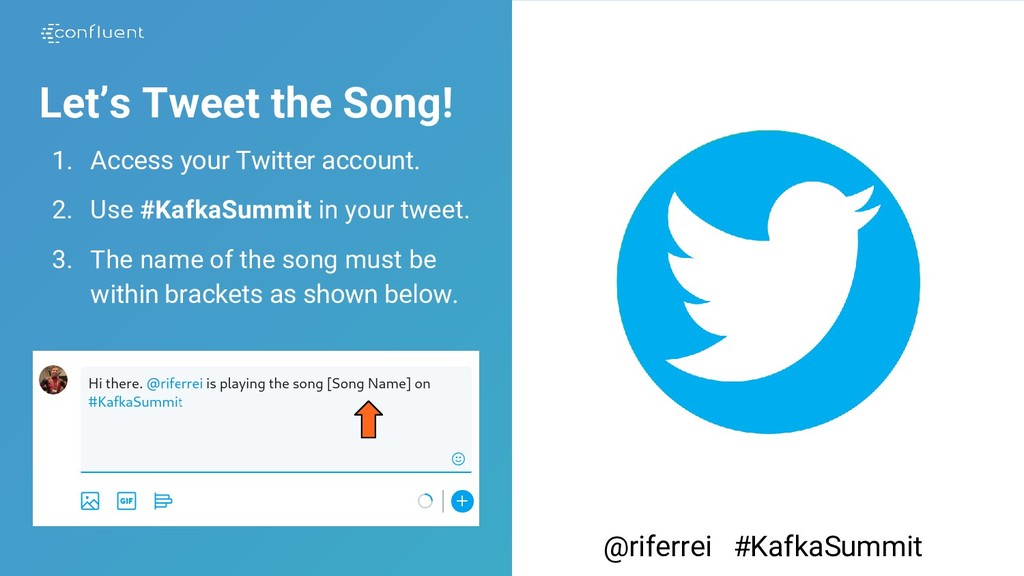 Let's Tweet the Song! 1. Access your Twitter ac...