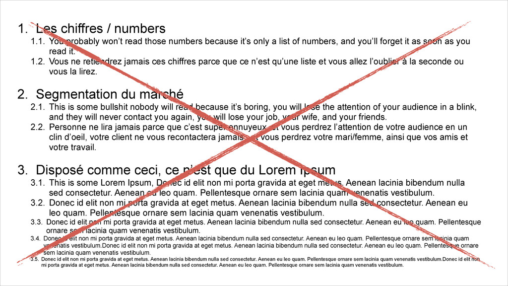 1. Les chiffres / numbers 1.1. You probably won...