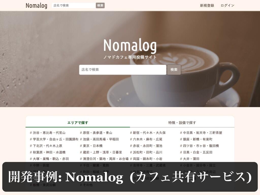 ։ൃྫ: Nomalog (ΧϑΣڞ༗αʔϏε)