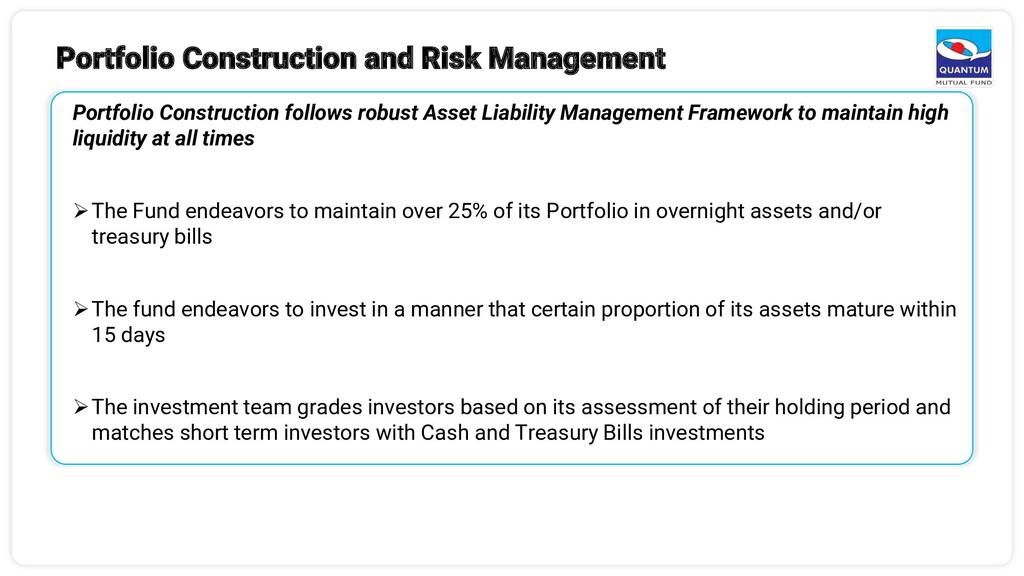 Portfolio Construction and Risk Management Port...