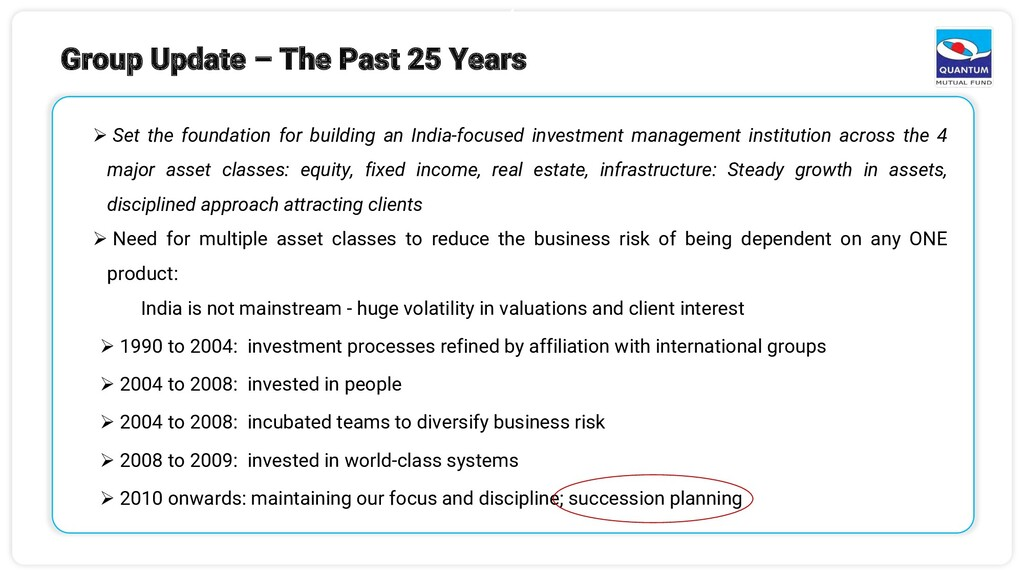 4 ➢ Set the foundation for building an India-fo...