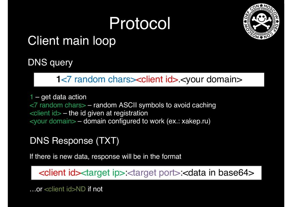 Protocol 1 – get data action <7 random chars> –...