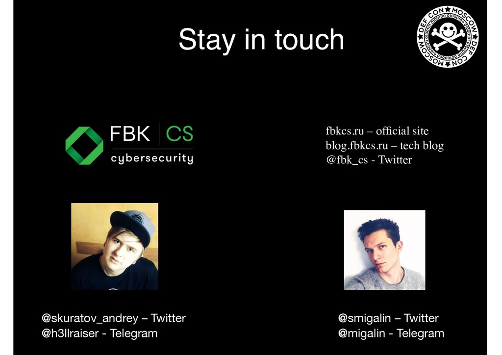 Stay in touch fbkcs.ru – official site blog.fbkc...