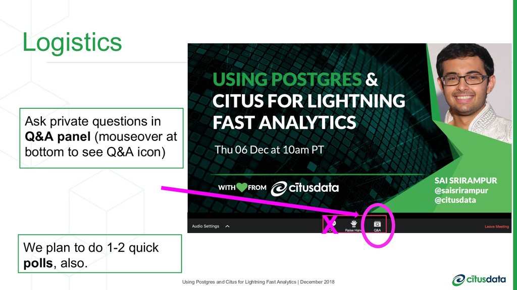Using Postgres and Citus for Lightning Fast Ana...