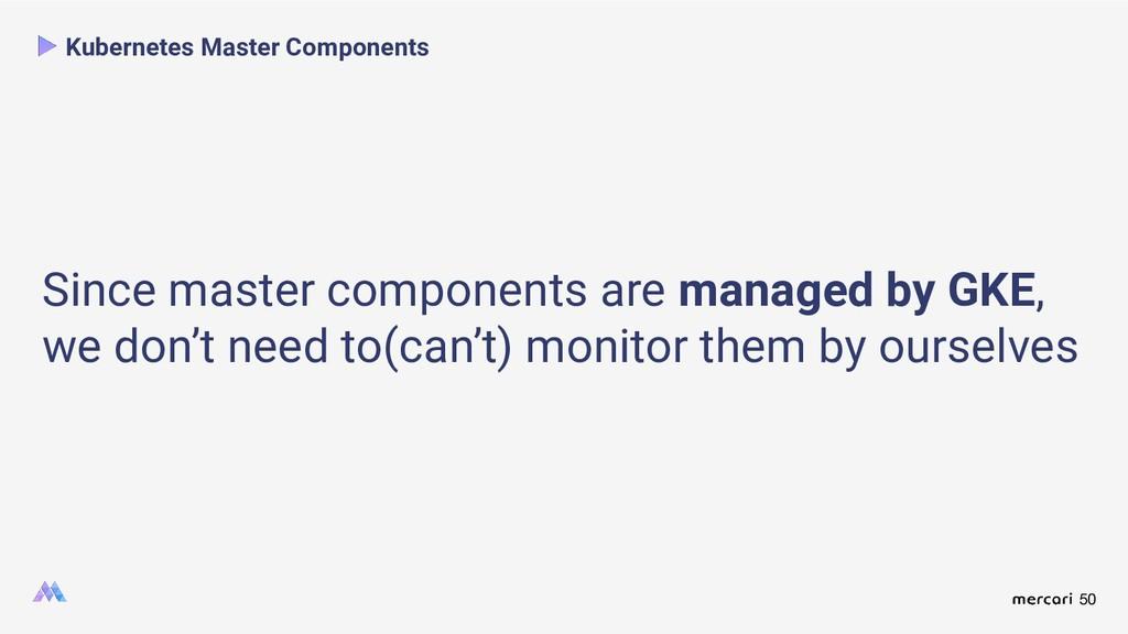 50 Kubernetes Master Components Since master co...