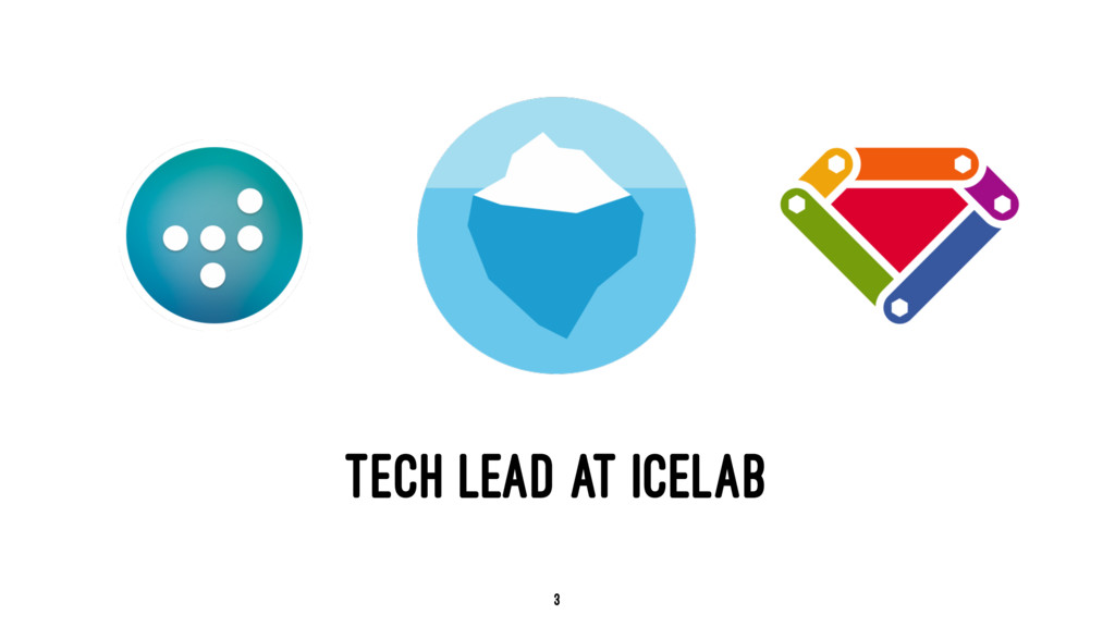 TECH LEAD AT ICELAB 3