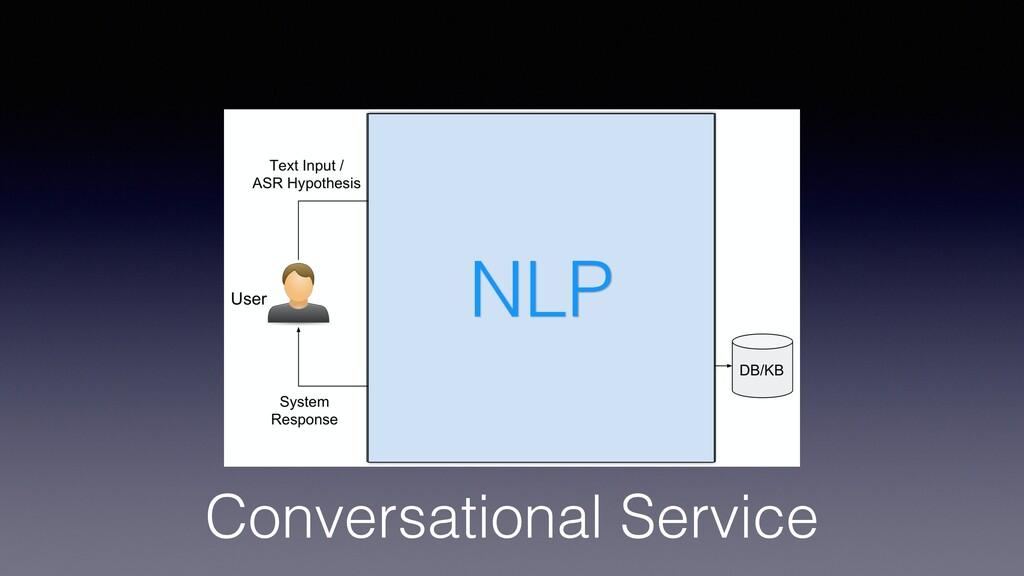 Conversational Service AI NLP