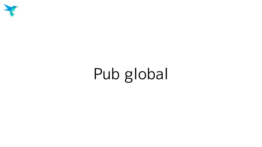 Pub global