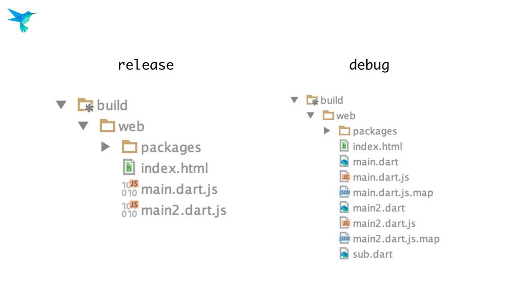 release debug