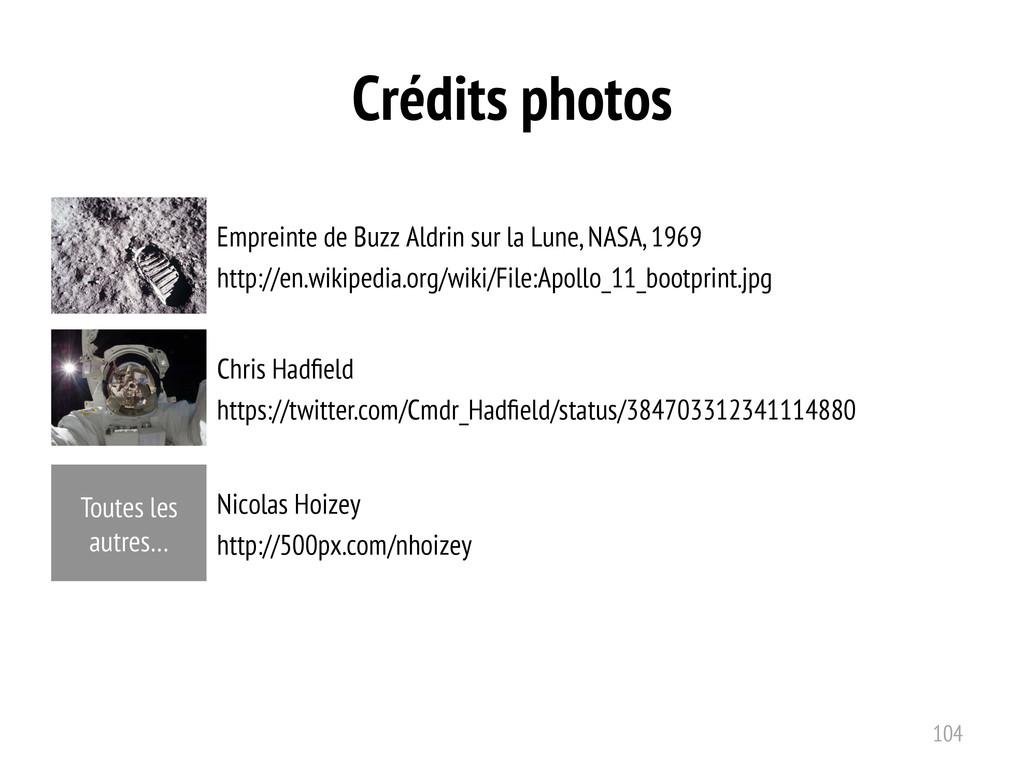 Crédits photos Empreinte de Buzz Aldrin sur la ...