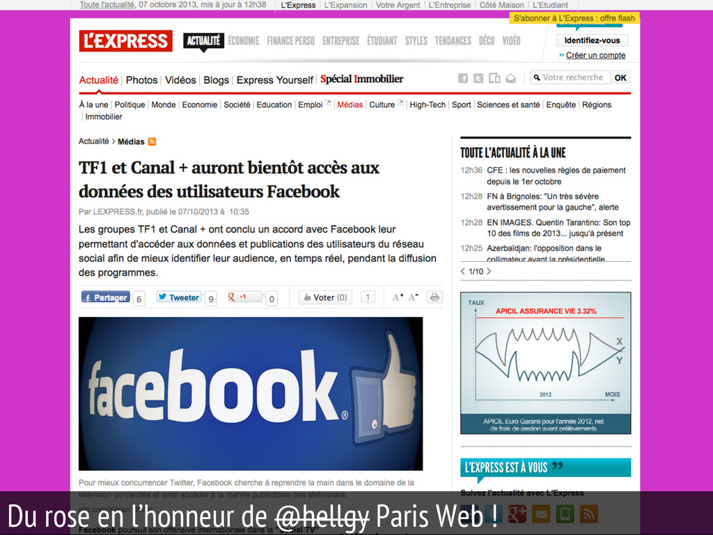 28 Du rose en l'honneur de @hellgy Paris Web !