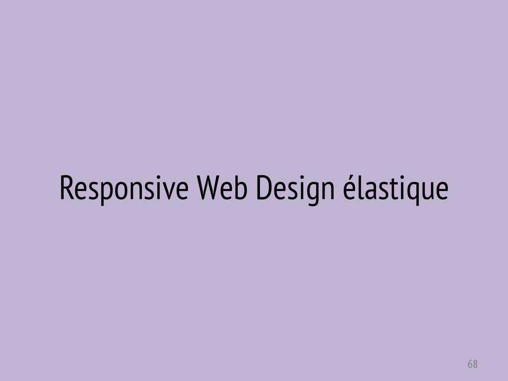 Responsive Web Design élastique 68