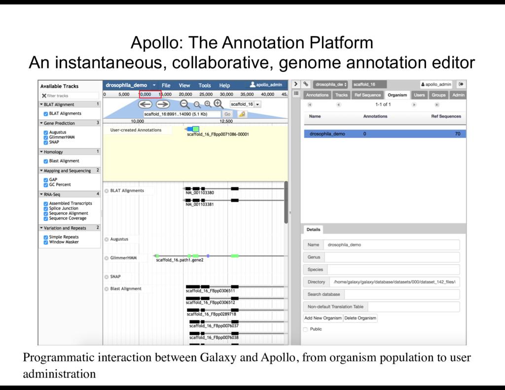Apollo: The Annotation Platform An instantaneo...