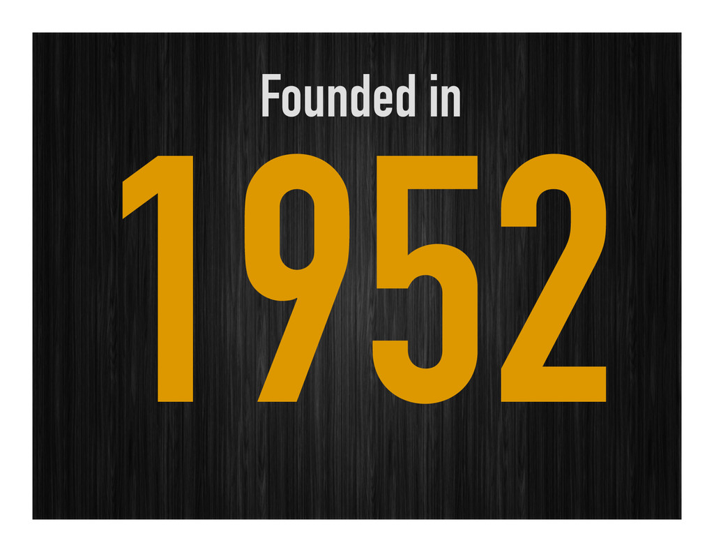 Founded in 1952