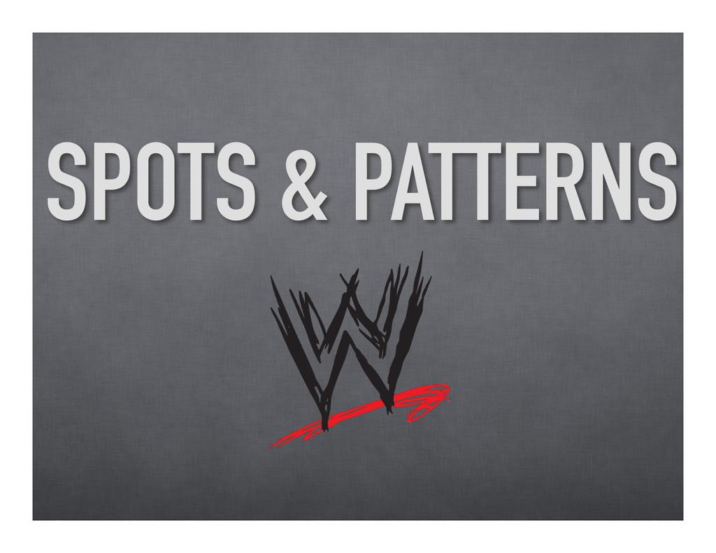 SPOTS & PATTERNS
